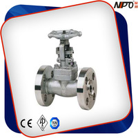 API Stainless Steel/F304/F316/F304L/F316L Flanged Forged Gate Valve