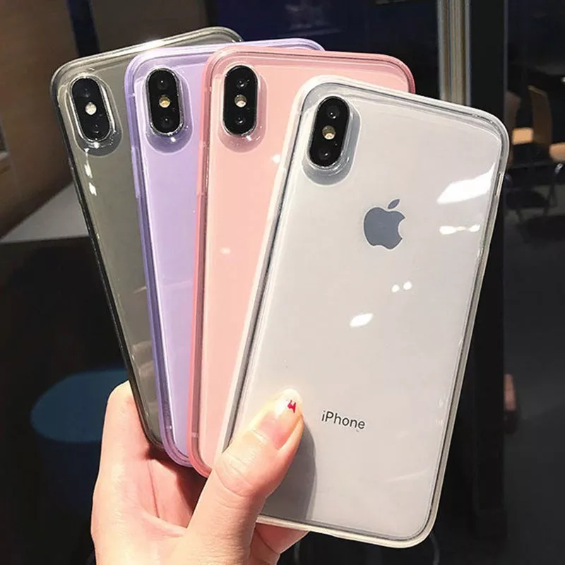 new arrival flexible soft gel mobile phone shell for iphone 7 x xs max xr 8 6s,for iphone 7 tpu case crystal transparent