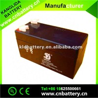 12v 1.3ah high performance gel battery lead acid battery with best price