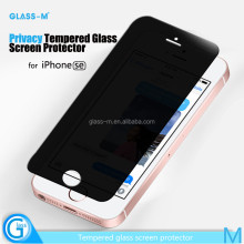 for iPhone 5S Toughened High Quality Wholesale Price Anti Spy Screen Protector Smartphone