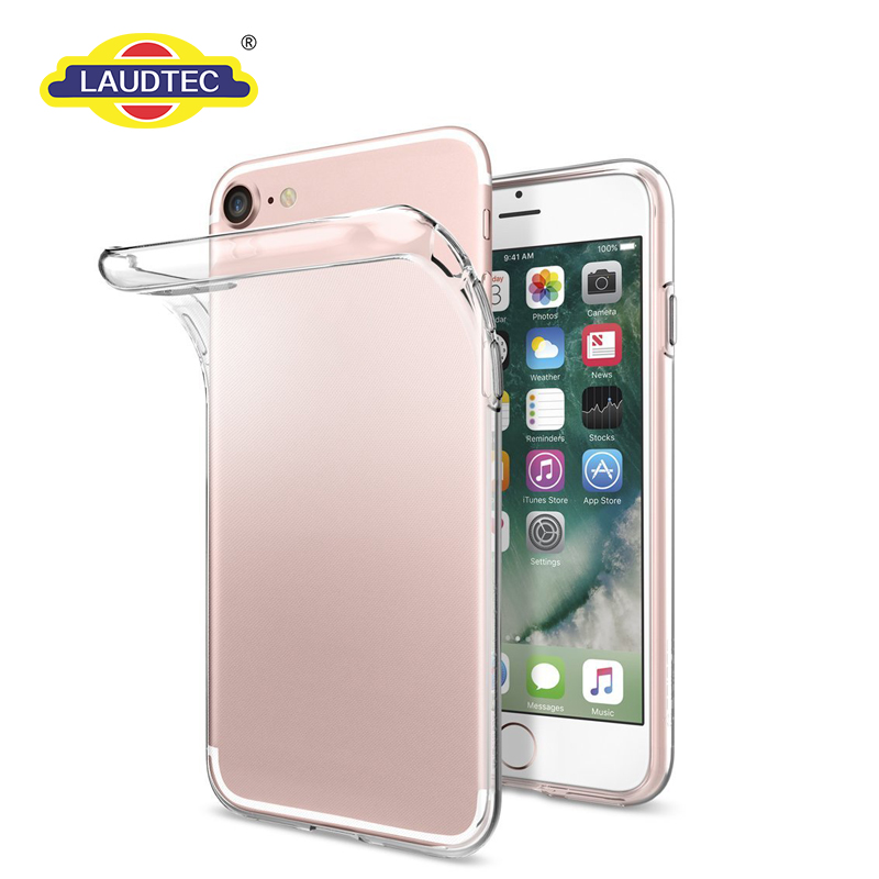 2016 new model clear transparent phone case, TPU phone case for iPhone 7 7plus