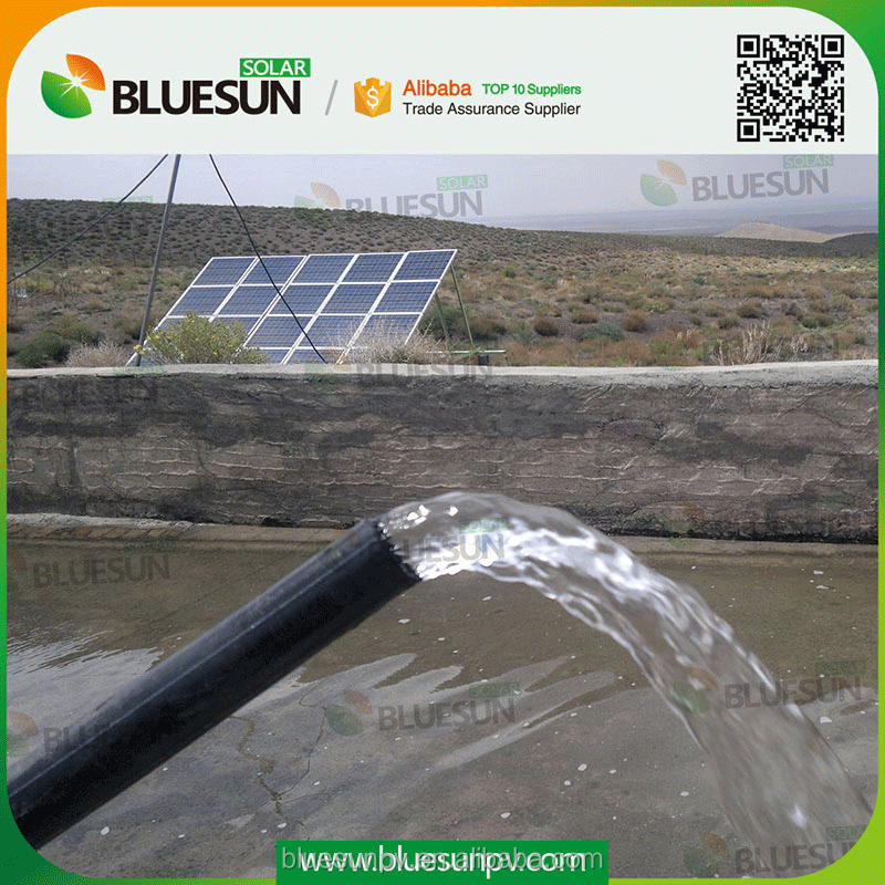 BLUESUN big power brushless magnetism motor dc solar powered water pump for swimming pool slide