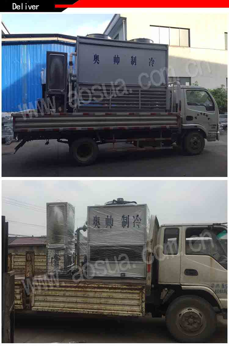 40ton Closed Circuit Counter-flow Water Cooling Tower With Best Price
