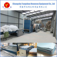 industrial cnc non woven polyester fiber quilt machine