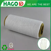 Ne6s/3 cotton /polyester blended twisted yarn for knitting and weaving blanket