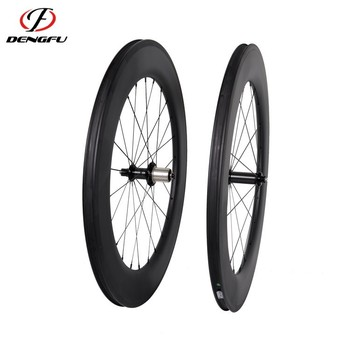 700c carbon fiber bicycle wheels Tubular 86mm Depth road carbon bicycle wheels