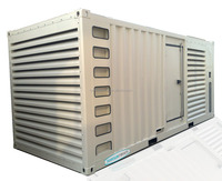 With Cummins KTA50-G3 CE Standard 1MW Containerized diesel generator 1000kw container generator