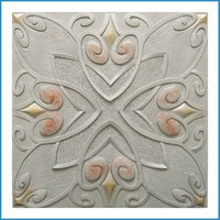 3D carved decorative wall panel,leather ceiling wall,tv background wall tile