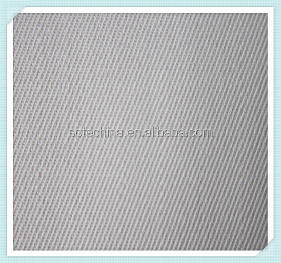 wholesale china factory plain dyed polyester cotton fabric