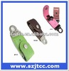 Bulk Leather USB Flash, 512 MB Promotional USB Stick