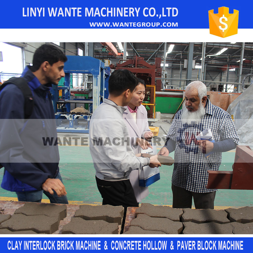 WANTE BRAND automatic machine breeze block algeria QT8-15