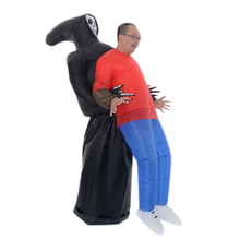 2017New arrival inflatable Ghost Carry on Costume halloween costume for hot sale