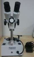 Fable 10-80X magnification of fluorescence gem microscope with extensive field of view