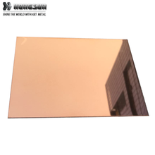 stainless steel ground mirror plate 304 201 430 for home decoration