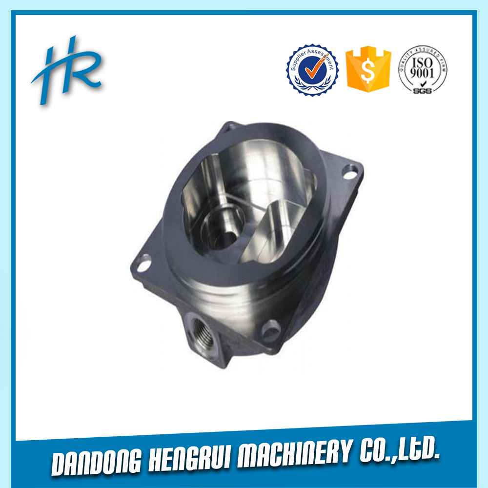 Factory price customized high quality aluminum die casting oil filter base