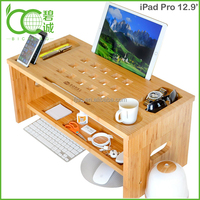 Monitor Stand with Riser, Storage Organizer Bamboo, 3.5