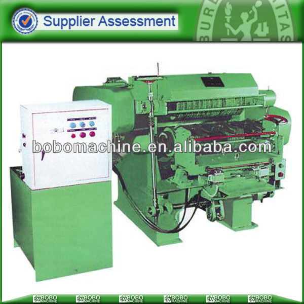 Automatic deburring machine for knife