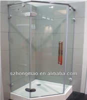 Glass partition for bathroom,interior glass doors