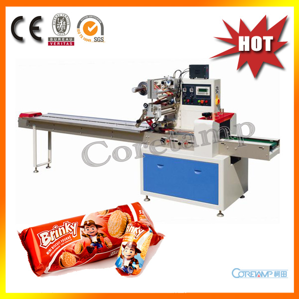 High Speed Donuts Pillow Packing Machine KT-250