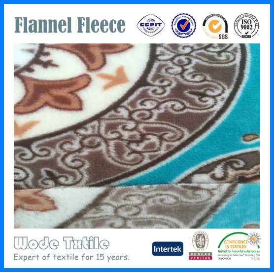 Hot Sale Flannel Fleece/Coral Fleece Fabric For Arabic Sofa Design
