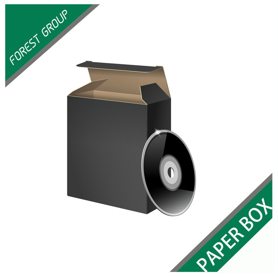 CHEAP PRICE CORRUGATED SMALL PAPER BOXES FOR CD DVD PACKAGING WITH COLORS PRINTED