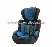 safety baby car seat for group 1+2+3(9-36KG) with ECE R44/04
