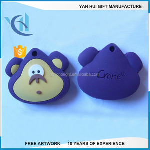 Customized Silicone Soft PVC Rubber key cover/key cap