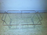 wire chafing dish stand catering party buffet chafer food warmer frame rack