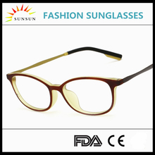 Elastic paintTR90 eyeglasses frame high quality square spectacle frame 2017/Super light frames