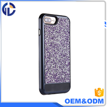 parts smartphone color changing hybrid diamond phone case for iphone 7
