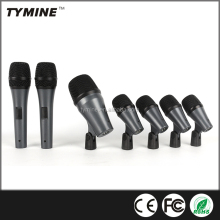 Tymine Hot Sale Professional instrument 7pcs drum microphone kit
