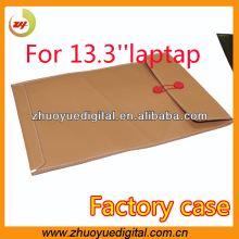 New products factory pu leather file cover portfolio bag,file pocket,documents pouch have in stock