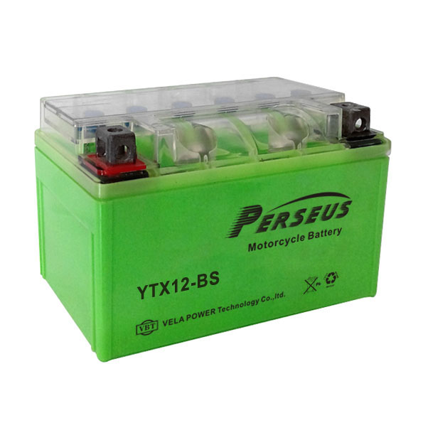 motorcycle battery mgm YTX12-BS GEL battery