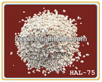 Industry kiln refractory high-alumina aggregate and powder refractory material castable lump