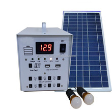 DC to DC 12v 30w home solar system for led light with usb