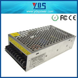 electronics supplier for 48v power supply with battery charger for led/cctv metal case power supply 24V 200W