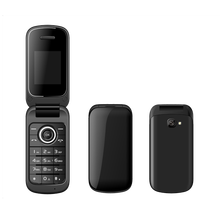 New Phone in China Wholesale OEM Brand 2G GSM Mobile 2.4 Inch Flip Phone