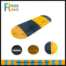 500 x 500 x 35mm line shape Rubber speed breaker, rubber speed hump