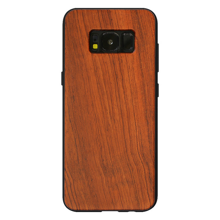 Real Wood Case for iphone 7 6 6S Plus 5 5S SE, Cover Natural Bamboo Wooden Hard Phone Cases For Samsung Galaxy S8 S9