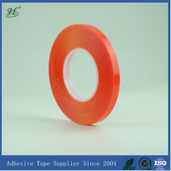 10mm X 50M Clear Strong Polyester Adhesive Double Sides Tape For Embroidery