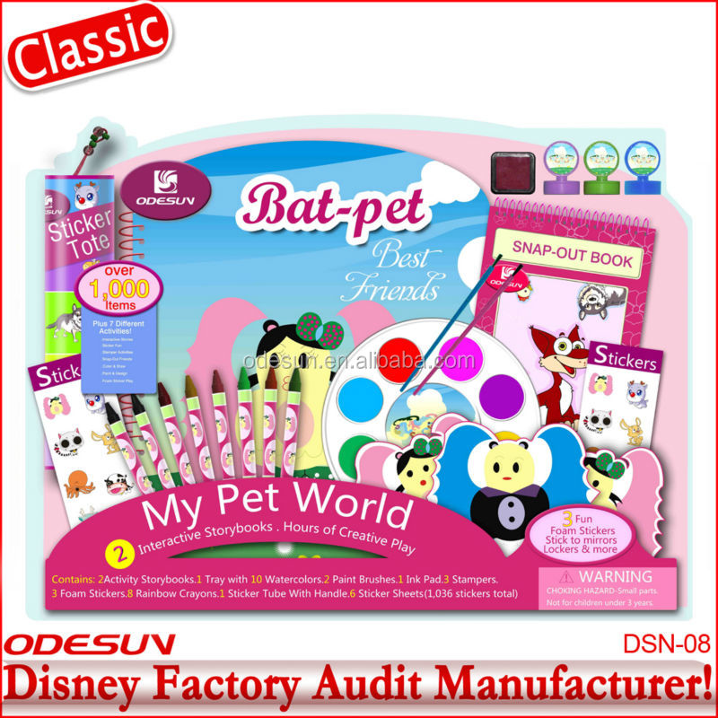 Wholesale 2015 recycled office stationery set for school children 1411002