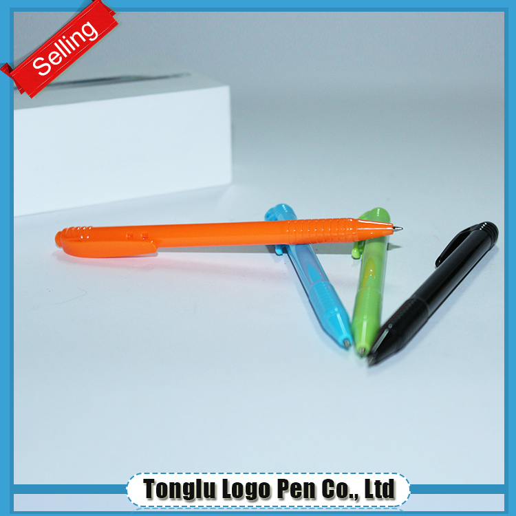 Cheap decorative stationery plastic pens cheap custom pen