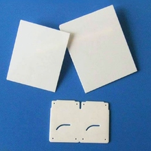 Customized High precision laser cutting alumina ceramic substrate for electronics