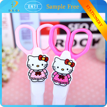 china suppliers alibaba Hot sale custom ballpoint pen kid gift cartoon small scissors and cat style ballpoint pen