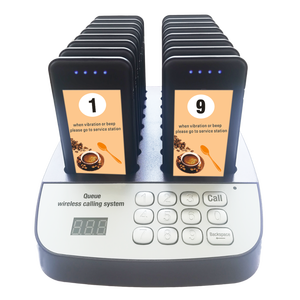 Convenient Restaurant Wireless Calling Service Ordering System