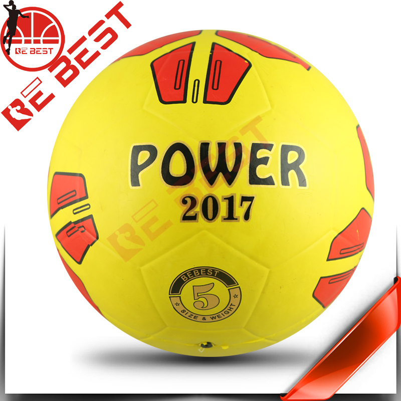 Size 5 smooth rubber soccer ball bebest size 5 smooth rubber football hungriness stocksize 5 granule rubber soccer china factory