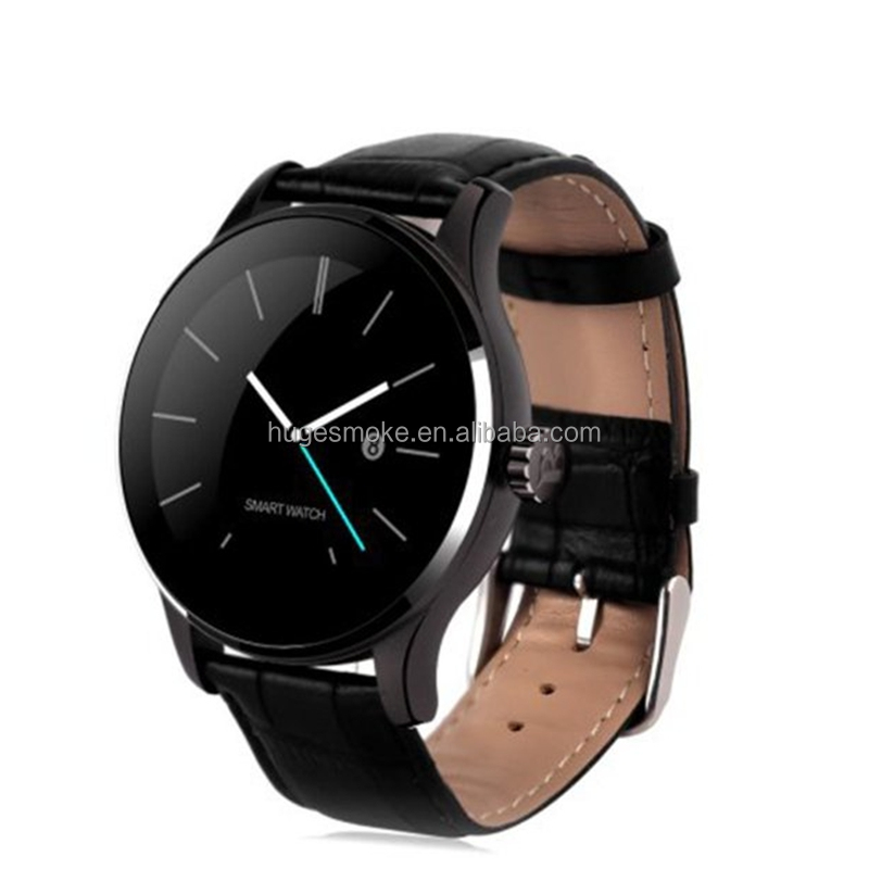 2016 Top Selling Metal Bluetooth Smart Watch k88h mobile phone for Ios and Android