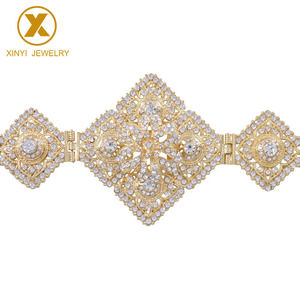 All-Diomandes Belt Rhinestone Body Jewelry Adjustment Length European Belt