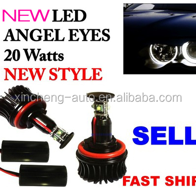 Car accessory 40w Cree led angel eyes bulb led light for bmw 1 series:E87 Hatchback (2008+)