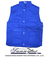 Sunnytex China Apparel Winter Cheap Photographer Vest for Men